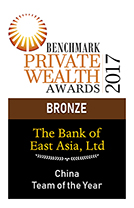 BENCHMARK Private Wealth Awards 2017