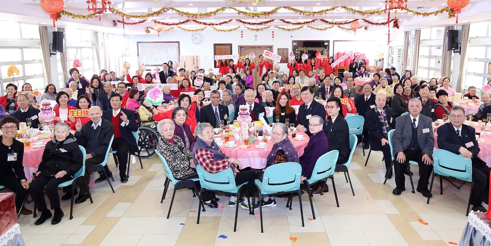BEA Celebrates Its Centenary with the Elderly