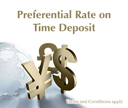 SupremeGold Preferential Time Deposits Interest Rate